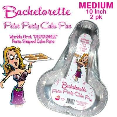 Bachelorette Peter Party Cake Pan MEDIUM