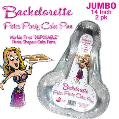 Bachelorette Peter Party Cake Pan LARGE