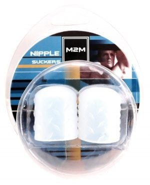 M2M Silicone Nipple Suckers Medium - Clear