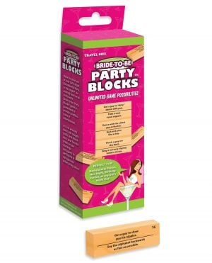 Bride-to-be Party Blocks Game
