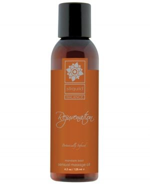 Sliquid Organics Massage Oil - 4.2 oz Rejuvenate