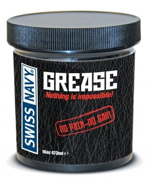 Swiss Navy Grease - 16 oz Jar