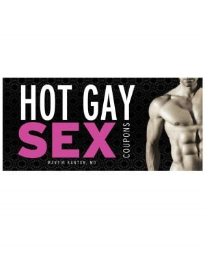 Hot Gay Sex Coupon Book