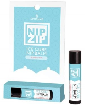 Sensuva Nip ip Ice Cube Nip Balm - Strawberry Mint