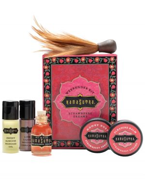 Kama Sutra Weekender Kit - Strawberry Dreams