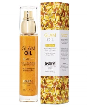 EXSENS of Paris Beauty Glam Oil w/Glitter