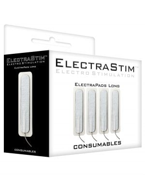 ElectraStim Accessory - Rectangle Self Advesive Pads (Pack of 4)