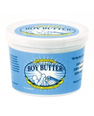 Boy Butter H2O Based - 16 oz Tub