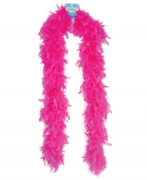 Lightweight Feather Boa - Hot Pink