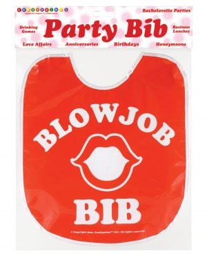 Blow Job Party Bib