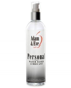 Adam & Eve Personal Water Based Lube - 8oz