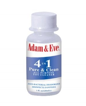Adam & Eve 4 In 1 Pure & Clean Misting Toy Cleaner - 1 oz