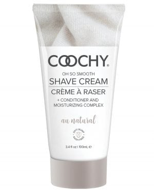 COOCHY Shave Cream - 3.4 oz Au Natural