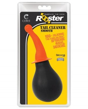 Curve Novelties Rooster Tail Cleaner Smooth - Orange