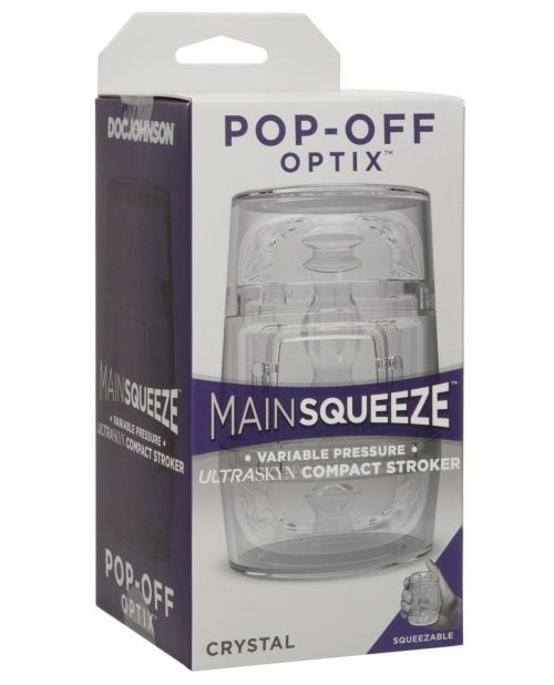 Main Squeeze Pop Off Optix - Crystal