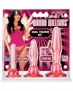 Wendy Williams Anal Trainer Kit - Pink
