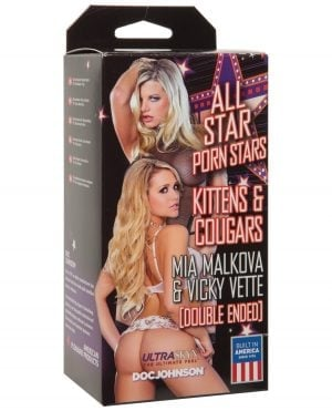 All Star Porn Stars Kittens & Cougars Mia Malkova Pussy & Vicky Vette Mouth
