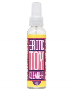 Erotic Toy Cleaner - 4 oz