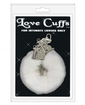 Love Cuffs Furry - White