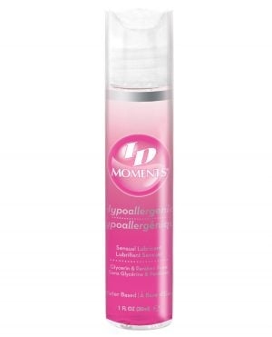 ID Moments Water Based Lubricant - 1 oz Pocket Bottle