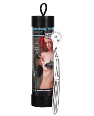 KinkLab Wartenberg Pinwheel w/Leather Sheath