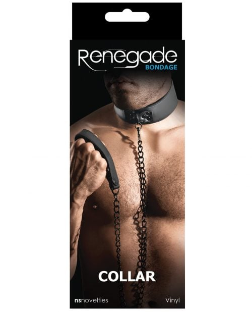 Renegade Bondage Collar - Black