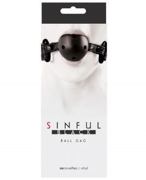 Sinful Ball Gag - Black