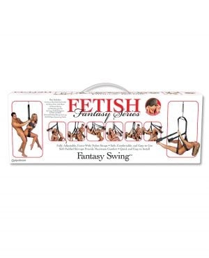 Fetish Fantasy Series Sex Swing - Black