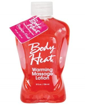 Body Heat Lotion - 8 oz Passion Fruit