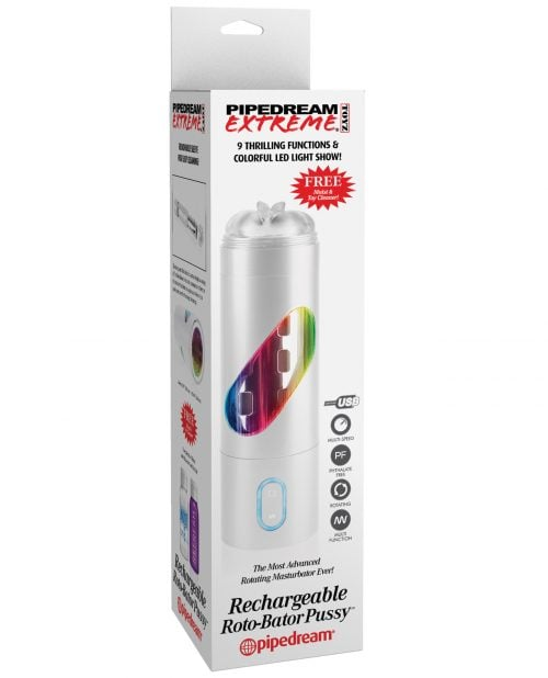 Pipedream Extreme Toyz Rechargeable Roto Bator Pussy