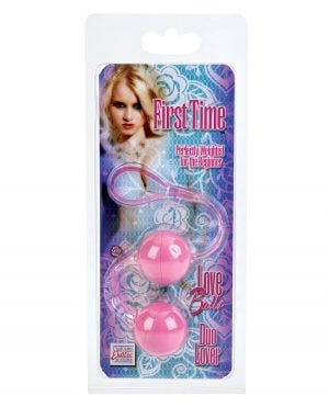 First Time Love Balls Duo Lover - Pink