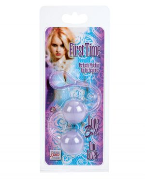 First Time Love Balls Duo Lover - Purple