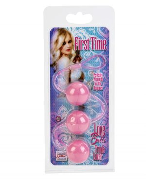 First Time Love Balls Triple Lover - Pink