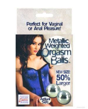 Metallic Weighted Orgasm Balls