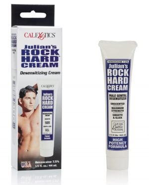 Julian's Rock Hard Cream - 1.5 oz