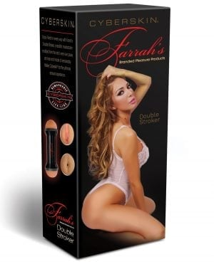 CyberSkin Celebrity Series Farrah's Double Ended Stroker