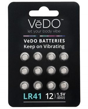 VeDO LR41 Batteries - 1.5V Pack of 12