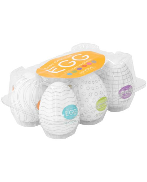 Tenga Egg Variety Display - Hard Boiled Pack of 6