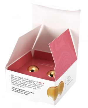 CGC Pleasure Balls 24K Gold Plated Set