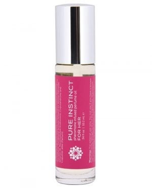 Pure Instinct Pheromone Perfume Oil Roll On For Her - 10.2 ml