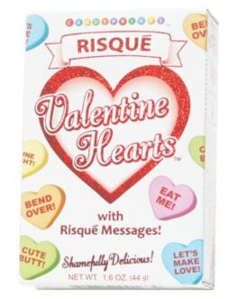 Risque Valentines Heart Candy – 1.6 oz Box