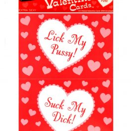 10 X-Rated Valentine Cards w/Envelopes
