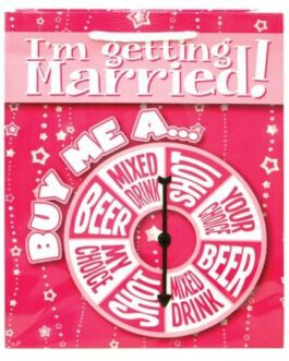 I'm Getting Married Buy Me A…Spinner Gift Bag
