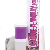 Clone-A-Willy Kit Vibrating – Neon Purple