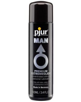 Pjur Man Premium Extreme Silicone Personal Lubricant  – 100 ml Bottle