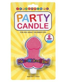 Make a Wish & Blow Penis Party Candle