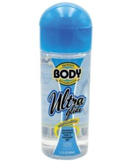 Body Action Ultra Glide Water Based – 2.3 oz Bottle