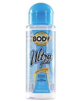 Body Action Ultra Glide Water Based – 4.8 oz Bottle
