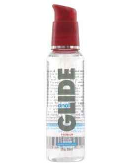 Anal Glide Silicone Lubricant – 2 oz Pump Bottle