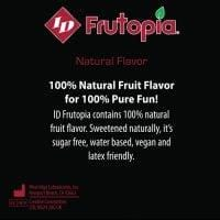 ID Frutopia Natural Lubricant – 3.4 oz Raspberry